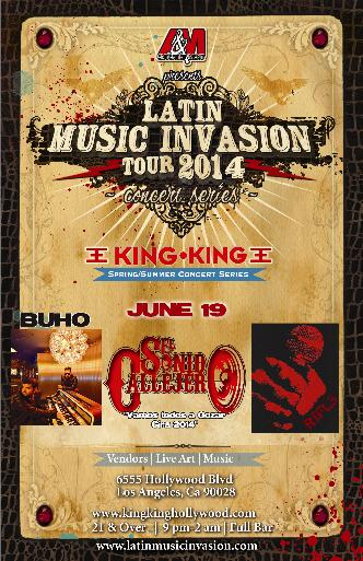 Latin Music Invasion concert: Main Image