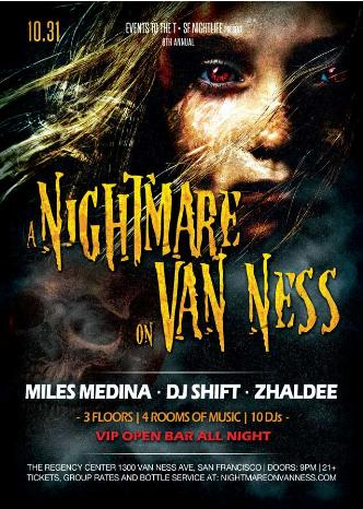 A Nightmare On Van Ness