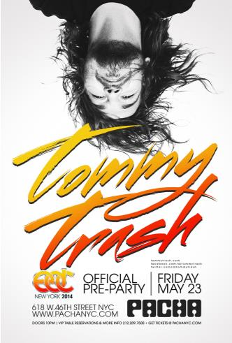 EDC Pre-Party: Tommy Trash: Main Image