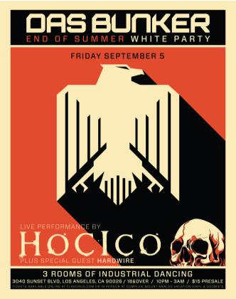 Hocico live at Das Bunker: Main Image