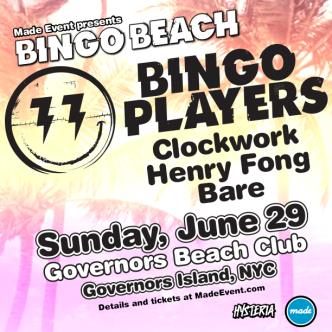 Bingo Beach: Bingo Players: Main Image
