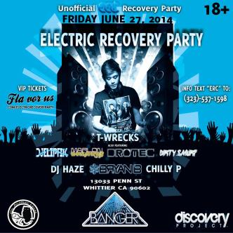 Electric Recovery Party: Main Image