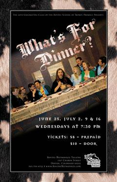 What's For Dinner?: Main Image