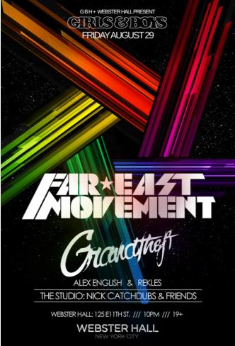 Far East Movement + Grandtheft