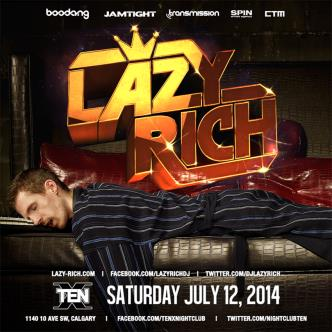 LAZY RICH - YYC: Main Image