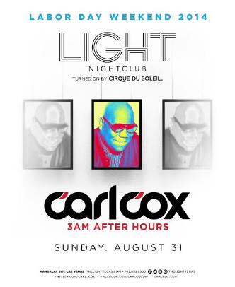 Carl Cox After Hours: Main Image