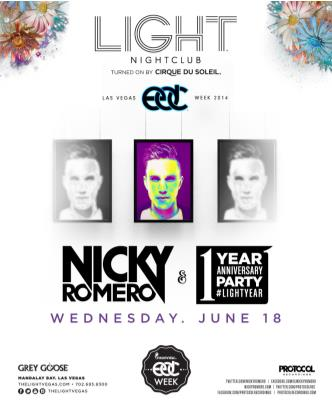 EDC Weekend - Nicky Romero: Main Image