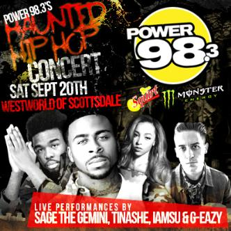 Power 98.3's Haunted Hip Hop: Main Image