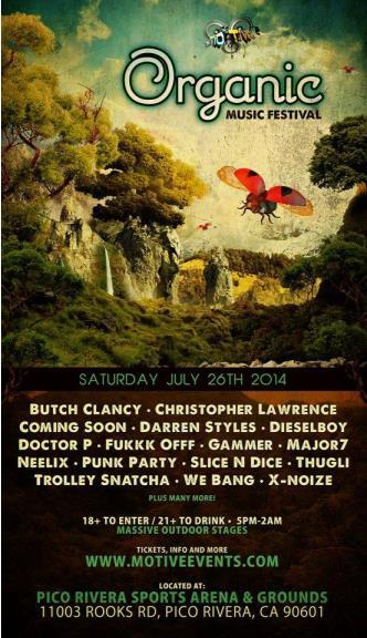 Organic Music Festival: Main Image