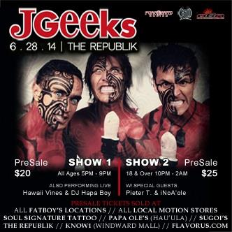 JGeeks - Early Show: Main Image