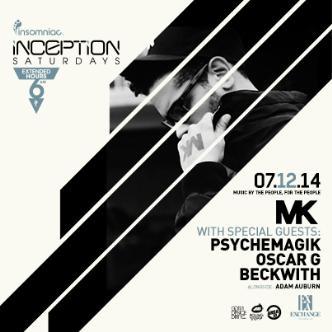 Inception ft. MK: Main Image