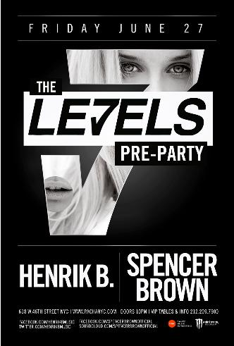 The LE7ELS PRE-PARTY: Main Image
