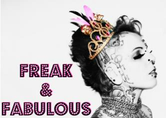 FREAK & FABULOUS: Inked Lady