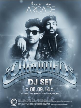 CHROMEO (DJ SET): Main Image