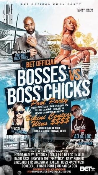 BOSSES VS' BOSS CHICKS: Main Image
