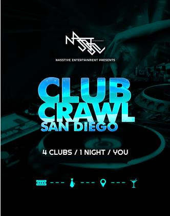 Club Crawl San Diego