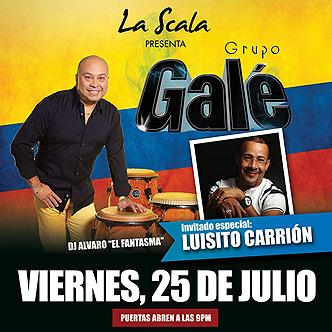 Grupo Gale y Luisito Carrion-img