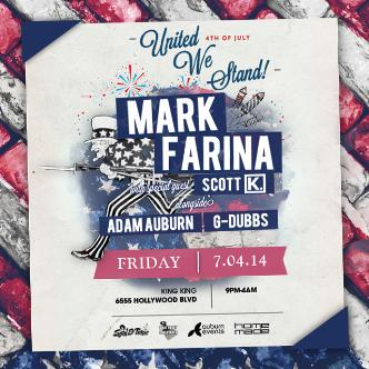 MARK FARINA - UNITED WE STAND: Main Image