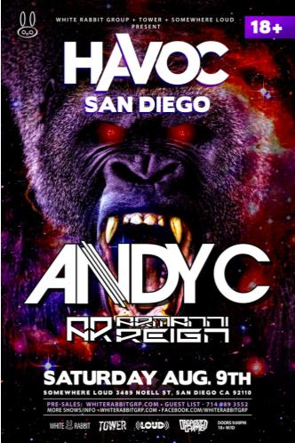 Havoc SD ft. Andy C & Armanni: Main Image