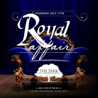 Royal Affair #ParkThursdays: Main Image