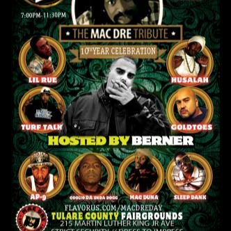 Mac Dre Day Hosted by Berner!-img