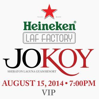 JOKOY VIP Tickets: Main Image