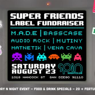 Super Friends Label Fundraiser-img