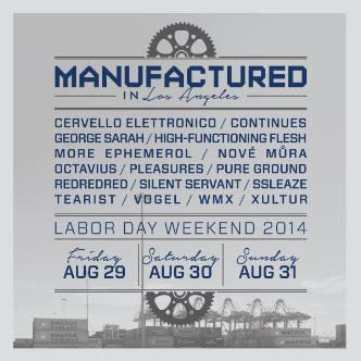 Manufactured in LA 3-Day Pass-img