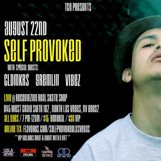 Self Provoked In Las Vegas!: Main Image
