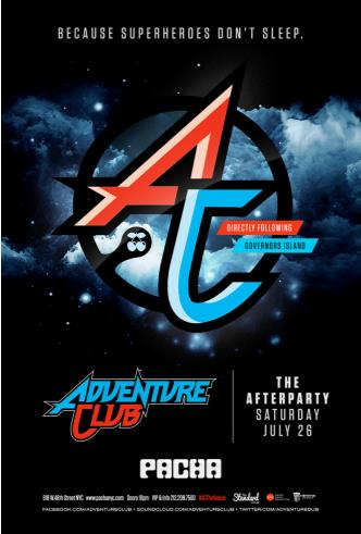 ADVENTURE CLUB THE AFTER PARTY: Main Image