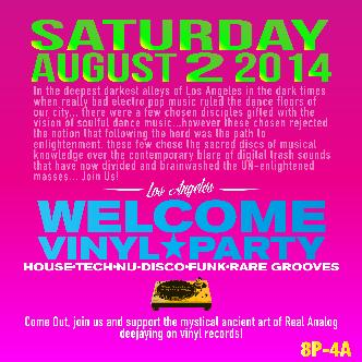 Welcome vinyl party Sat Aug 2-img