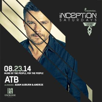Inception ft. ATB: Main Image