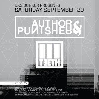 Author & Punisher / 3Teeth: Main Image