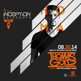Inception ft. Thomas Gold: Main Image