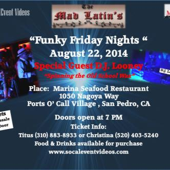 Funky Friday w/ The Mad Latins-img