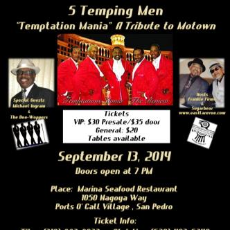 5 Tempting Men-Motown Revue-img