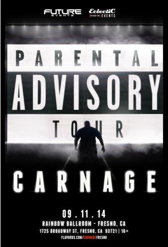 Carnage @ Fresno: Main Image