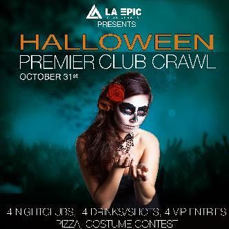 Premier Halloween Club Crawl