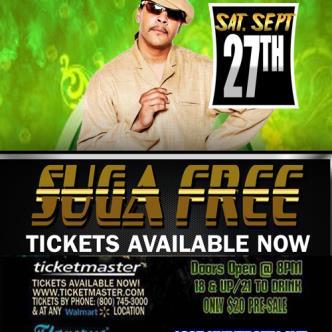 "SUGA FREE ""Live & Up Close""-img"