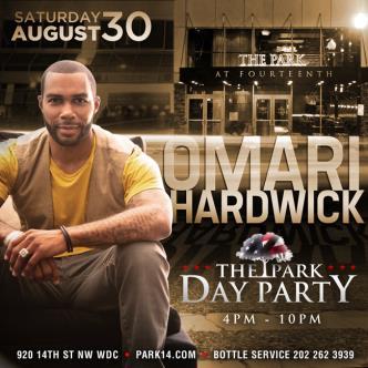Omari Hardwick #ParkSaturdays-img