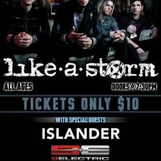 Like a Storm, Islander-img