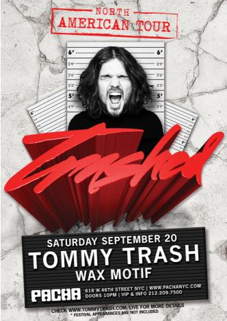 Trashed: TOMMY TRASH: Main Image