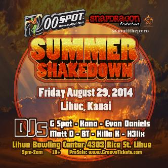 Kauai Summer Shakedown: Main Image
