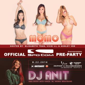 MOMO - Spocom Pre-Party: Main Image