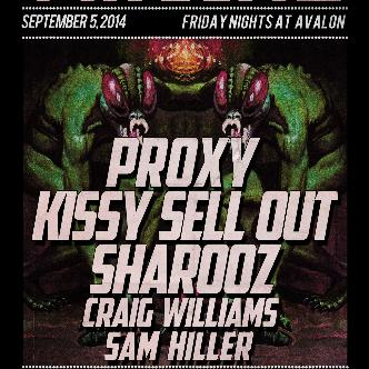 Proxy, Kissy Sell Out, Sharooz-img