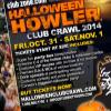 Winnipeg Halloween Club Crawl at Kings Head Pub