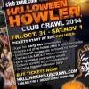 Saskatoon Halloween Club Crawl at Tequila