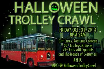 Halloween Trolley Crawl Chi