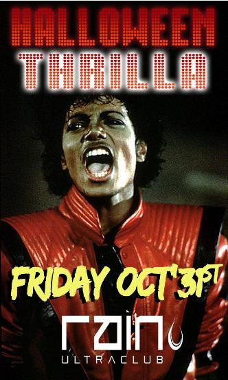 Halloween Thrilla 2014 @ Rain