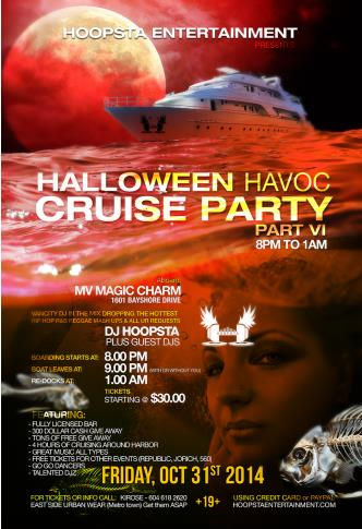 Halloween Havoc Cruise PartyVI